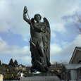 聖トラピスチヌ修道院~聖ミカエル像